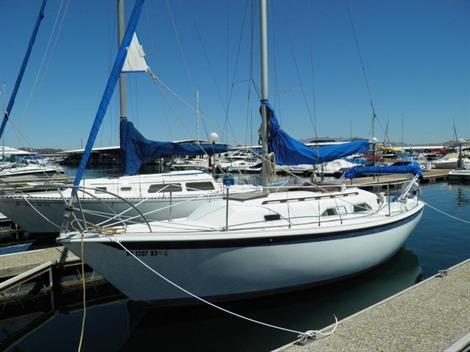 1978 Ericson 27   Sailboats