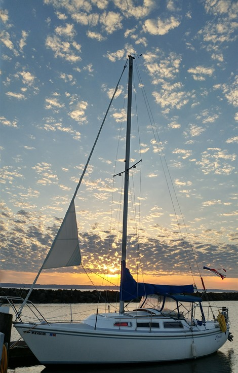 1978 Catalina 27  Sailboats